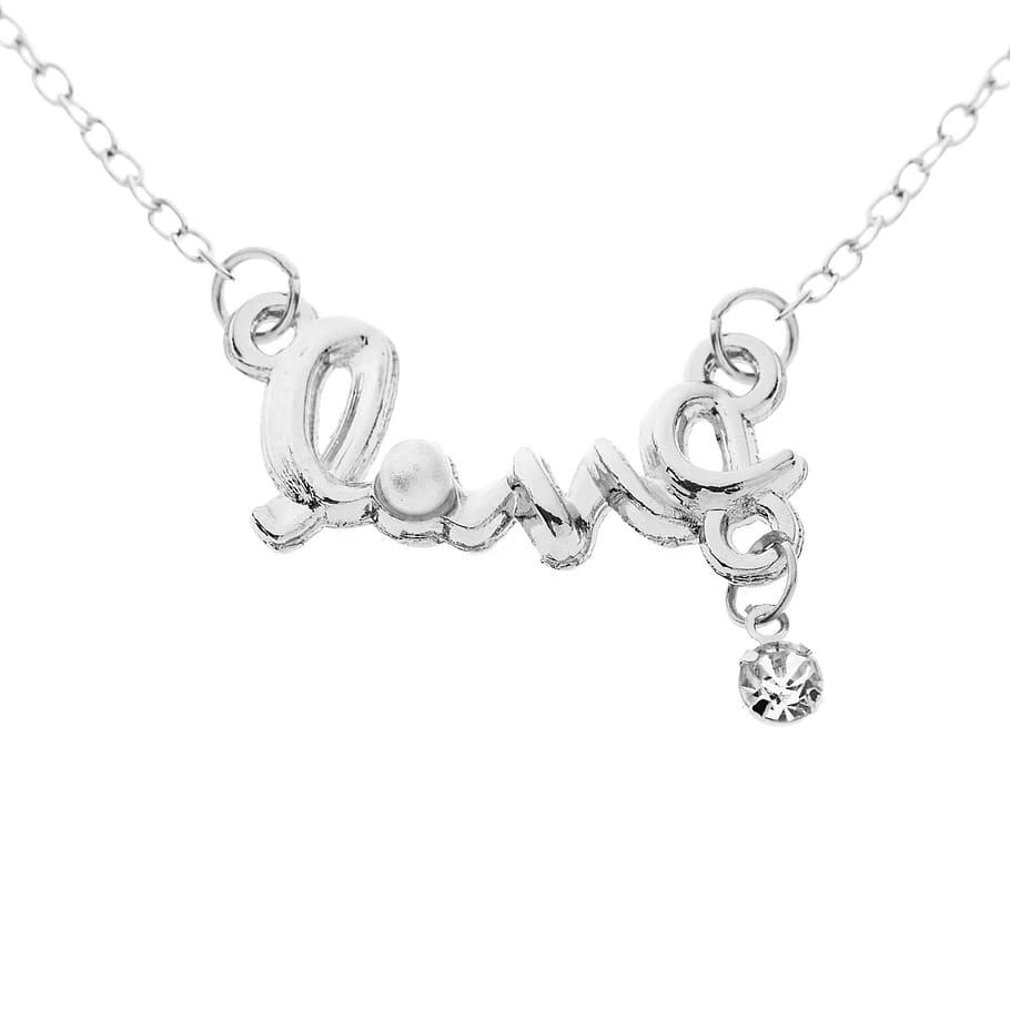 Love Pearl Chain Silver